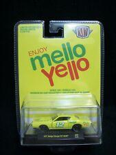 M2 Machines Mello Yello 1971 Dodge Charger R/T Hemi Limited Edition.