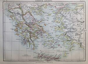 Griechenland - Greece - ancient - Ελλάδα - antikes Griechenland - Antike - map
