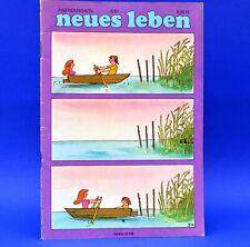 DDR Neues Leben 6 1981 Silly R 4100 Express Bob Marley Tasdorf Olsenbande Yes S