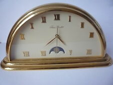 Vintage Jean Roulet Moon Phase Clock - SWISS MADE