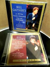 BILL GAITHER/20 ALL-TIME FAVORITE HOMECOMING SONGS/PERFORMANCES,VOL. 5 & 8-NEW!