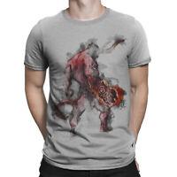 Hellboy Demon Form T-Shirt, Premium Cotton Tee, Men's All Sizes