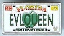 Disney Pin: Hidden Mickey Collection - License Plate ( EVLQUEEN)