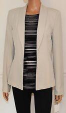 New Calvin Klein Blazer Jacket Khaki, Size 6, MSRP $119