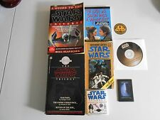 Lot of 5 Star Wars Books, Cd ect. lv rm