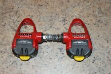 LOOK PP296 PEDALS RED VGC
