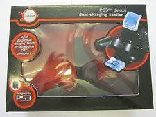 GameOn PS3 Stylish Deluxe Dual Charging Station for Two Wireless Controllers