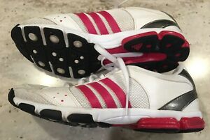 Adidas Women's Sneakers/Athletic Shoes Size 6.5, Torsion System, Red & White