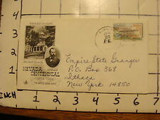 Vintage Envelope FIRST DAY OF ISSUE: jan 25, 1964 NEVADA CENTENNIAL