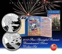 2012 Star Spangled Banner Bicentennial Silver Dollar Proof Set - NEW & SEALED