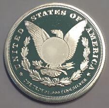 1 oz Sunshine Mint Morgan Silver Rounds, .999 Fine Silver