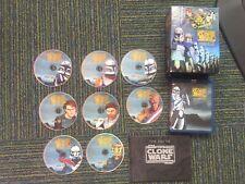 Star Wars The Clone Wars Seasons 1-3 Collectors Edition Blu-ray READ DESCRIPTION