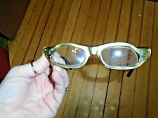 Vtg Vintage Frame France Cat Eye Glasses Plastic Frame Worn