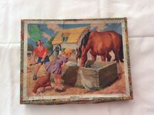 VINTAGE VICTORY JIG-SAW PUZZLE SERIES NO2 ( 2 PIECES MISSING )