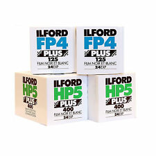 ILFORD FP4 & HP5 35mm 24 exp. 4 FILM STARTER PACK B&W FILM