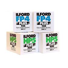 ILFORD FP4 & HP5 35mm 24 exp. 4 FILM STARTER PACK B&W FILM