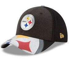 New Era Pittsburgh Steelers NFL Draft 17 Cap Stretch fit 3930 Black -Size M/L