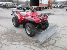1995 Honda TRX 300 4x4 Utility ATV w/ Manual lift Snow Plow