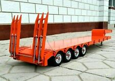 4-axle  1/14  Large Aluminum Semi Trailer  for all Tamiya 1/14 Tractor Truck NIB