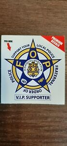 FOP VIP Supporter Decal Stickers