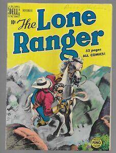 The Lone Ranger #17 1949 Dell Golden Age Comic Book Fine condition