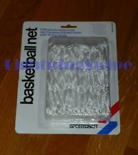 Sportcraft Basketball Net - White - Official Size - Sealed, Retail Package