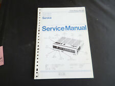 Original Service Manual Philips TR 1321