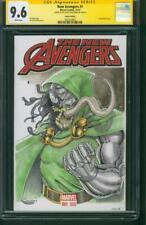 Avengers 1 CGC SS 9.6 Dr Doom Venom Original art Sketch Fantastic Four 18 Movie