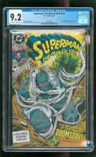 CGC 9.2 SUPERMAN THE MAN OF STEEL #18 1992 1ST FULL APPEARANCE OF DOOMSDAY WOW!