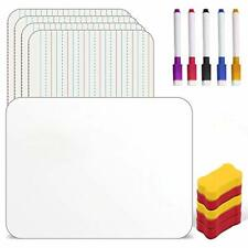 Dry Erase Board For Kids Homberry Small White Board Set Of 5 A4 Size Double S
