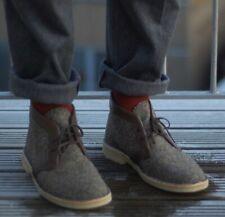 Clark's x Harris Tweed Desert Boots Men's 11 EUR44 1/2 Limited Edition