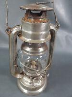 German Bat#158 Gasoline Kerosene Lantern Hanging Hurricane Oil Lamp Barn Light