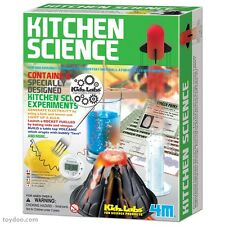 KITCHEN SCIENCE - 6 SPECIALLY DESIGNED EXPERIMENTS SCIENCE KIT 4M TOYSMITH