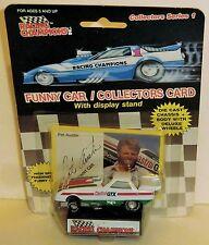 Pat Austin Castrol GTX 1989 1/64 Racing Champions NHRA collectors Series 1 Funny