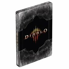 Diablo III 3 Limited Edition SteelBook - G1 Size [Video Game Metal Case] NEW