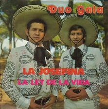 DUO GALA-LA JOSEFINA + LA LEY DE LA VIDA SINGLE VINILO 1975 SPAIN GOOD COVER-