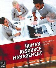 Human Resource Management by Raymond J. Stone Paperback