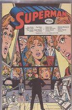 SUPERMAN SUPPLEMENTO AL NUMERO 4 DI CORTO MALTESE APRILE 1989