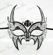 Men Black Wolverine Masquerade Mask - X-Men Mask - Batman Mask