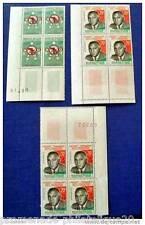 MADAGASCAR francobollo - stamp - yvert et telier n°352, 355 356 - Bloc de 4 - n
