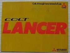 MITSUBISHI COLT LANCER Car Sales Brochure Aug 1974 #P310(37) Aug 1974 MG