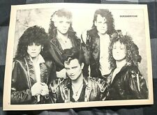 Queensryche / Ratt / Geoff Tate / Magazine Full Page Pinup Poster Clipping