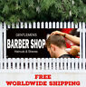 Banner Vinyl BARBER SHOP Advertising Sign Gentlemens Haircuts Shaves MANY SIZES