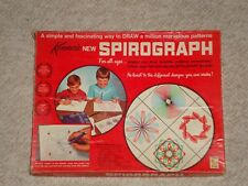 Vintage Kenner Spirograph 1967 Edition #401 Red Tray Original Box