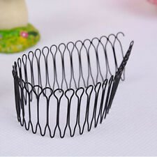 1PC New Women Hair Styling Roll Curve Clip Pin Invisible Bang Fringe Comb Clips