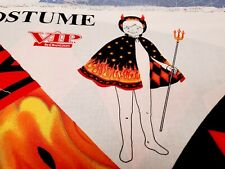 New listing Devil Costume Cape Hat Halloween Cotton Cotton Vip Yard Panel
