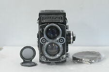 Rolleiflex 2.8F 12x24 Planar TLR Film Camera with Cap & New Strap