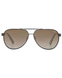Chopard Classic L.U.C Collection Brown Aviator Style Sunglasses 95217-0389 $580