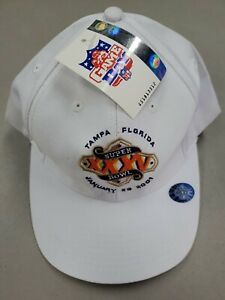 Logo Athletic Tampa Bay NFL Super Bowl XXXV 35 Snapback Hat  Baltimore Ravens L6