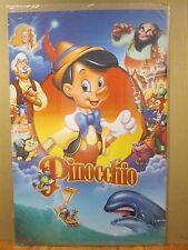 Pinocchio Vintage Disney movie cartoon poster #19